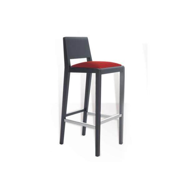 Tabouret de bar en bois collection contract mobilier - Tabouret bar professionnel ...