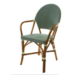 Fauteuil rotin ASTRID 2